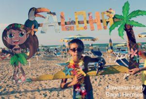 Animazione in spiaggia ai Bagni Hermes Torrette di Fano