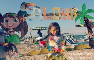 Festa Hawaiana ai Bagni Hermes Torrette di Fano