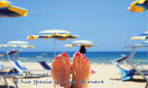 Bagni Hermes spiaggia a Torrette di Fano