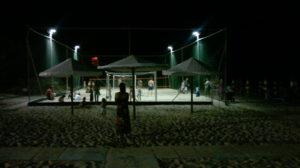 campo beach-volley illumintao Bagni Hermes Torrete di Fano