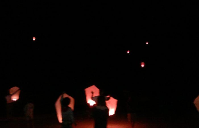 Lancio lanterne Bagni Hermes