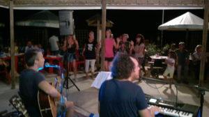 musica dal vivo in spiaggia a Fano