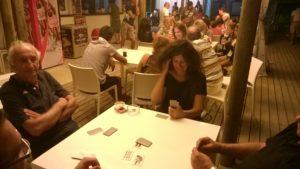 Torneo di Briscola ai Bagni Hermes Torrette di Fano