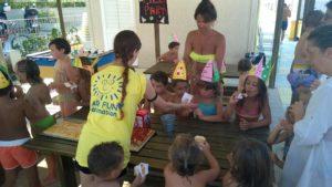 spiaggia a Fano per bambini